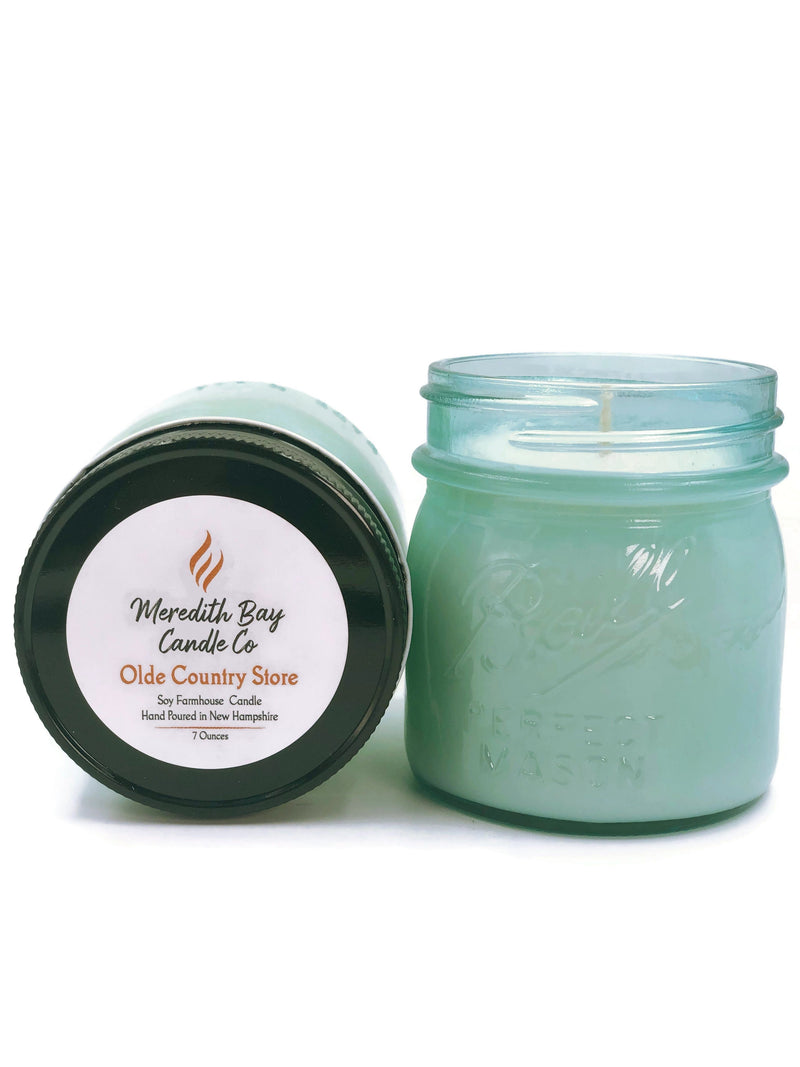 Olde Country Store Soy Candle Soy Candle Meredith Bay Candle Co 8.0 Oz Jar