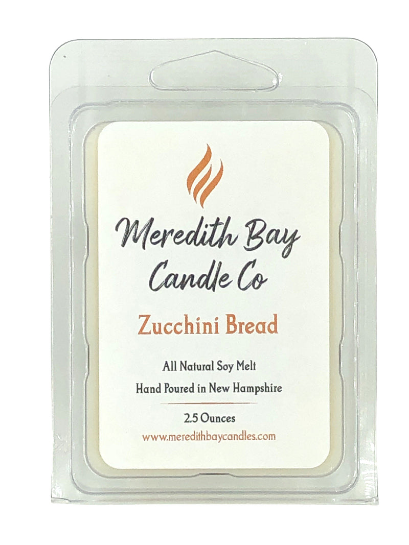 Zucchini Bread Wax Melt Wax Melt Meredith Bay Candle Co