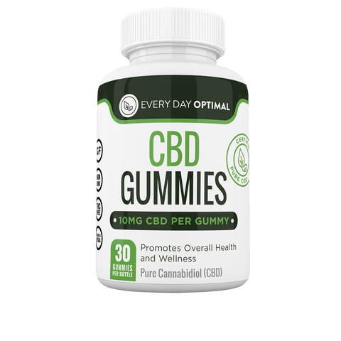CBD Gummies, 10mg CBD Per Gummy-Health Smart Hemp