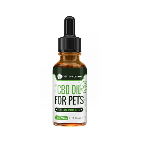 Image of CBD Oil For Cats and Dogs | Beef Flavor Cannabidiol Oil For Pets-Health Smart Hemp