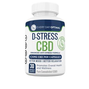 D-Stress CBD Capsules | CBD For Anxiety and Stress-Health Smart Hemp