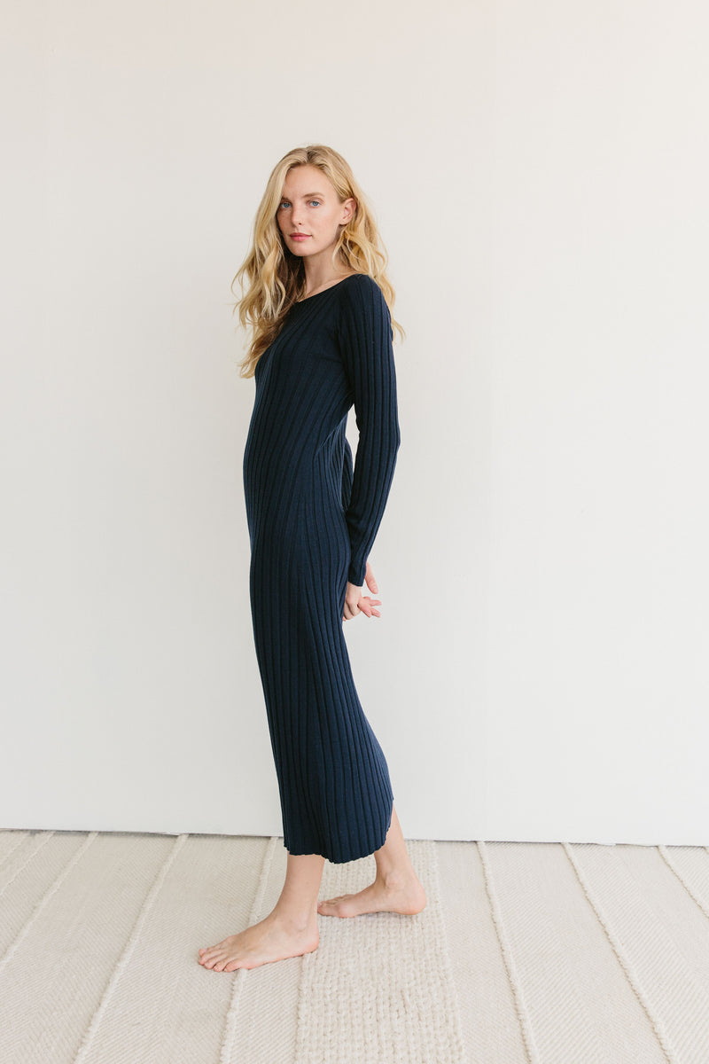 The Neha Ribbed Dress