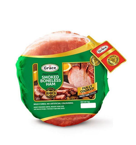 GRACE FULLY COOKED BONELESS HAM (EST. 2KG)