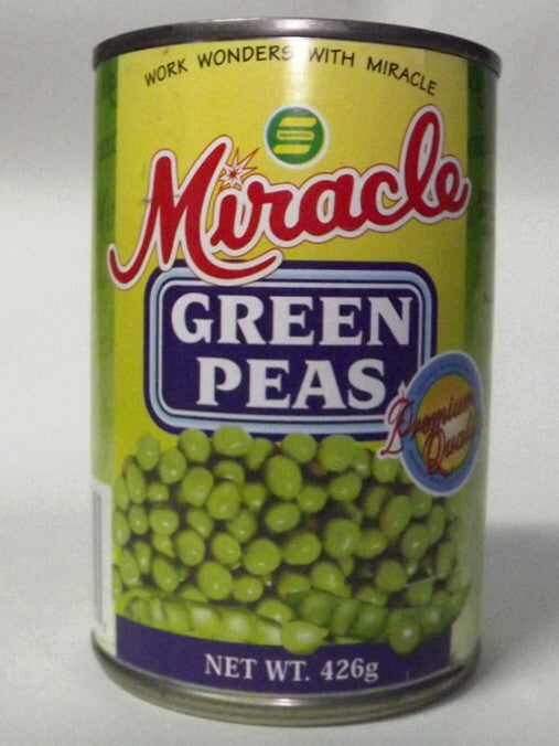 MIRACLE GREEN PEAS 426 G