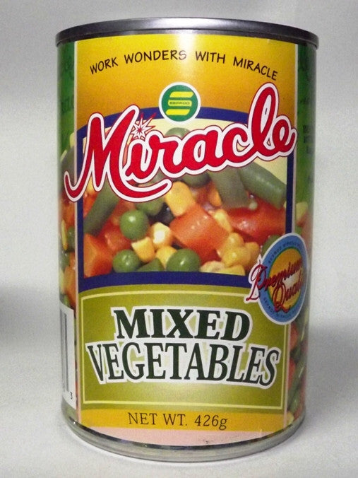 MIRACLE MIX VEGETABLES 426 G