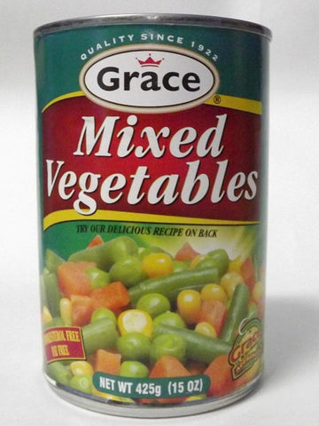GRACE MIX VEGETABLES 425G