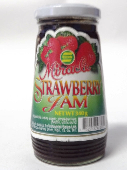 MIRACLE STRAWBERRY JAM 340 G