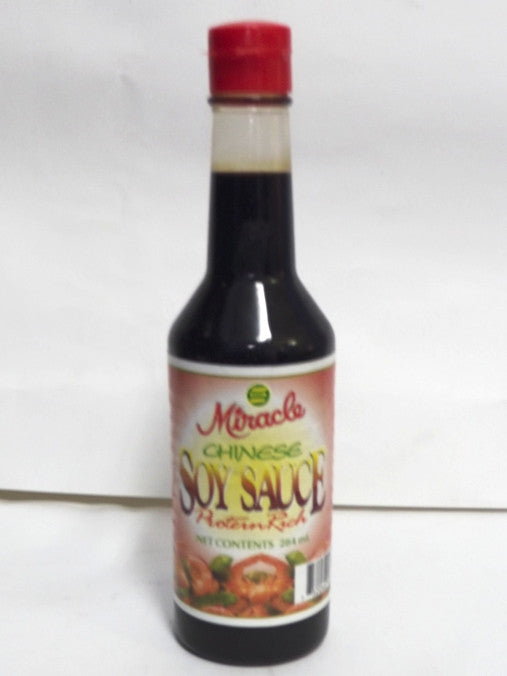 MIRACLE CHINESE SOY SAUCE 284 ML