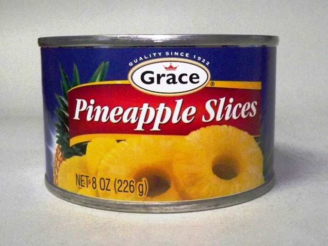 GRACE PINEAPPLE SLICES 226G