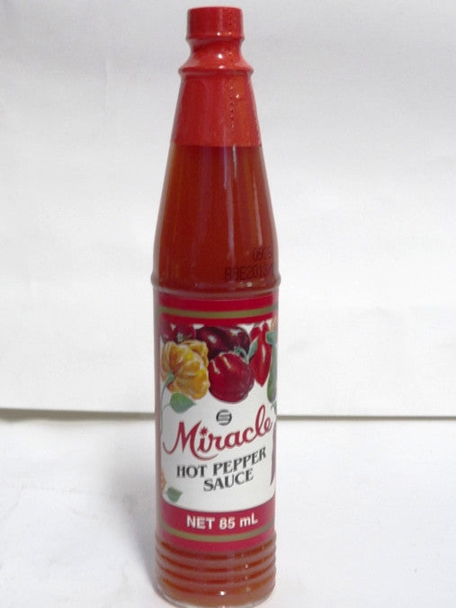 MIRACLE HOT PEPPER SAUCE 85 ML