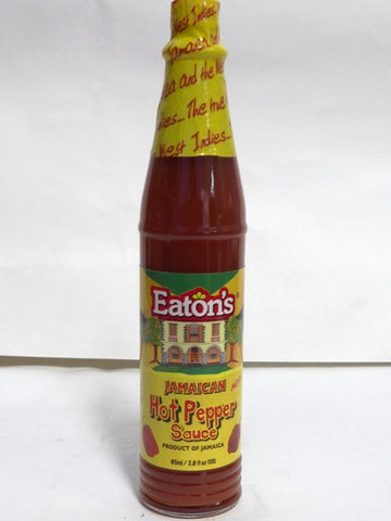 EATON`S JAMAICAN HOT PEPPER SAUCE 85ML