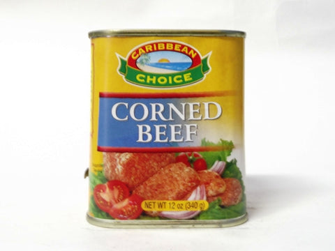 CARIBBEAN CHOICE CORNED BEEF 340G