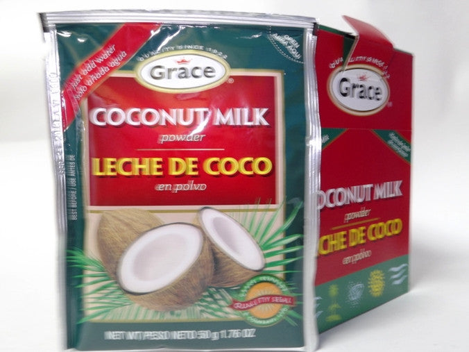 GRACE COCONUT MILK POWDER 12X50G