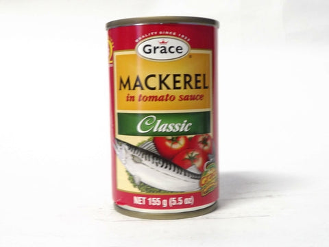 GRACE MACKEREL IN TOMATO SAUCE CLASSIC 155G