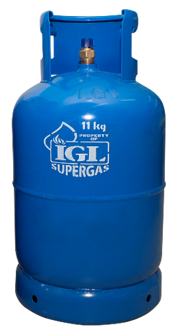 New Installation: IGL SUPERGAS 11 KG (25 LBS)