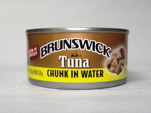 BRUNSWICK TUNA CHUNKS IN WATER 170G