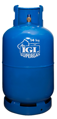 Gas Refill: IGL SUPERGAS 14 KG (30 LBS) (For Customers Who Currently Have Any Brand LPG Gas Installed)