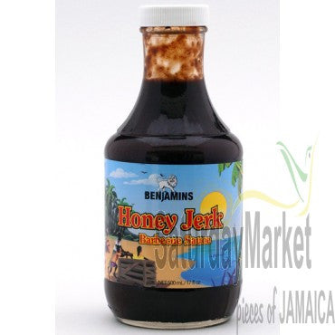 BENJAMINS HONEY JERK B-B-Q SAUCE 500ML