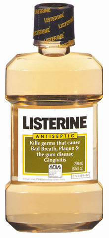 LISTERINE ANTISEPTIC MOUTH WASH 250ML