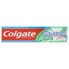COLGATE MAXFRESH WHITENING ELECTRIC MINT TOOTHPASTE 170G