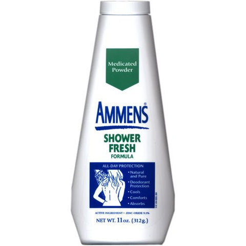 AMMENS MEDICATED POWDER FRESH SCENT 250G