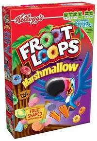 KELLOGG`S FROOT LOOPS M/MALLOW 357G