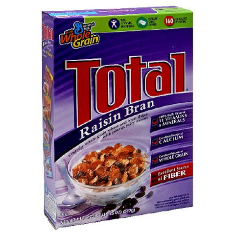 NESTLE TOTAL RAISIN BRAN 517G