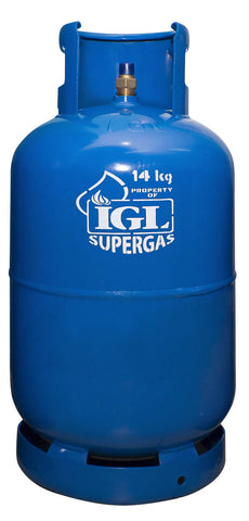 New Installation: IGL SUPERGAS 14 KG (30 LBS)