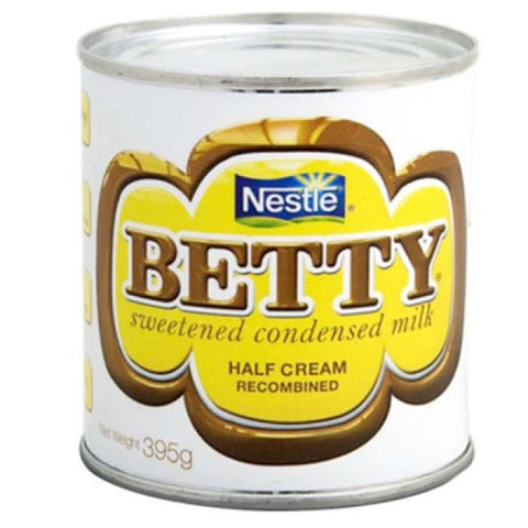 BETTY SWEETENED CONDENSED MILK 395G