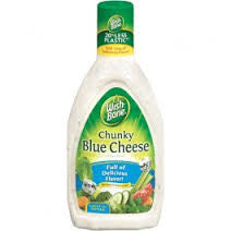 WISH-BONE CHUNKY BLUE CHEESE DRESSING 237ML