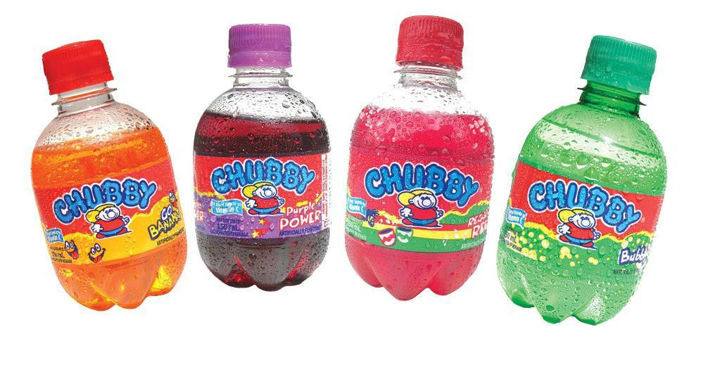 CHUBBY DRINKS ASSRT. 250ML CASE