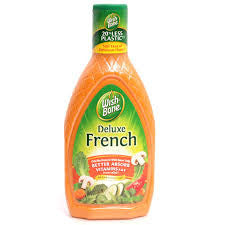 WISH-BONE D/FRENCH SALAD DRESSING 237ML
