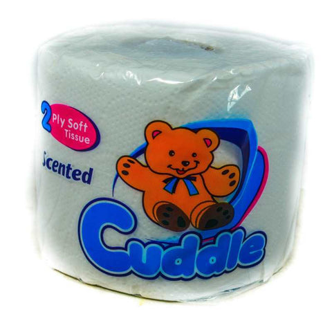 CUDDLE SCENTED TOILET TISSUE 6PK