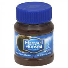 MAXWELL HOUSE INSTANT COFFEE 56G