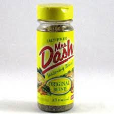 MRS DASH ORIGINAL SEASONING BLEND 191G