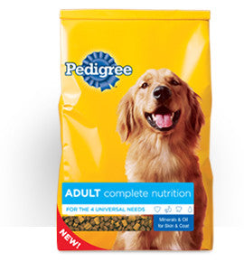 PEDIGREE ADULT COMPLETE NUTRITION 25KG