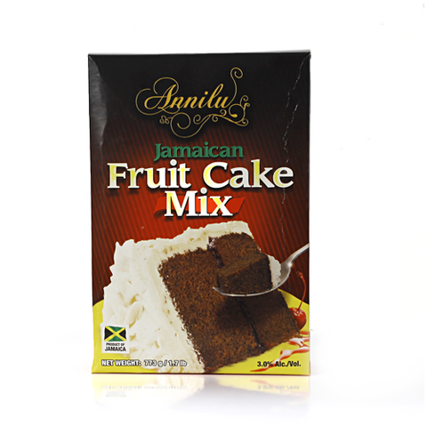 ANNILU JAMAICAN FRUIT CAKE MIX 773G