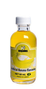 BENJAMINS ARTIFICIAL BANANA FLAVOURING 60ML