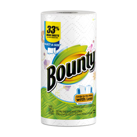 BOUNTY HAND TOWEL SELECT-A-SIZE