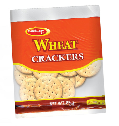 BUTTERKIST WHEAT CRACKERS 85G