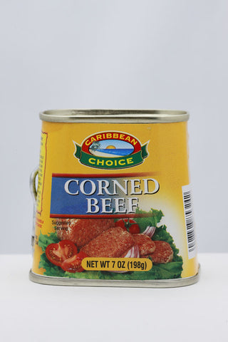 CARIBBEAN CHOICE CORNED BEEF 198G
