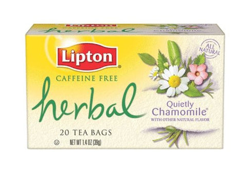 LIPTON HERBAL CHAMOMILE TEA 39G