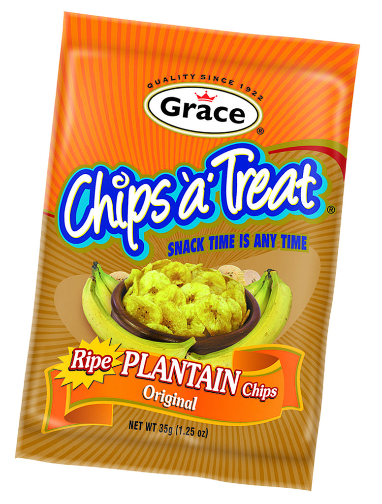 GRACE CHIPS A TREAT RIPE PLAINTAIN CHIPS 35G