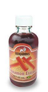 BENJAMINS CINNAMON EXTRACT 60ML