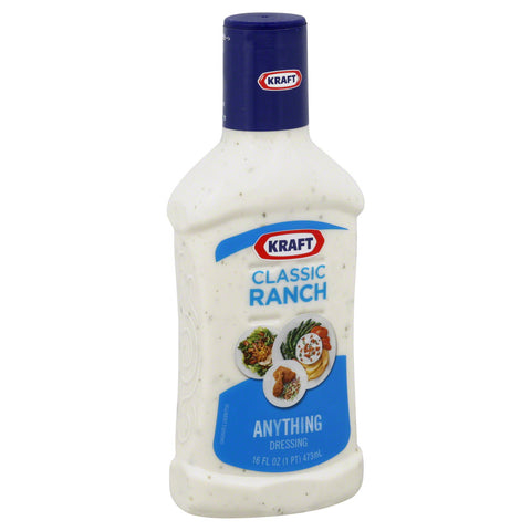 KRAFT CLASSIC RANCH DRESSING 237 ML