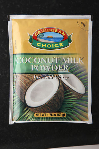 CARIBBEAN CHOICE COCONUT MILK POWDER 12 X 50G