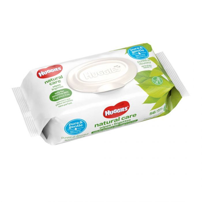 HUGGIES NATURAL CARE WIPES 56