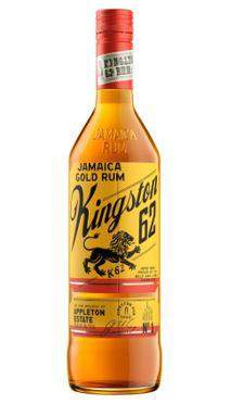 KINGSTON 62 JAMAICA  GOLD RUM 1LT