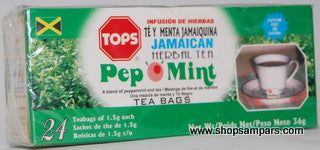 TOPS PEP '0 MINT TEA 24 BAGS