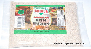 DINERS FISH SEASONING 1/4LB